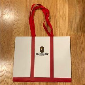 BAPE shopping bag